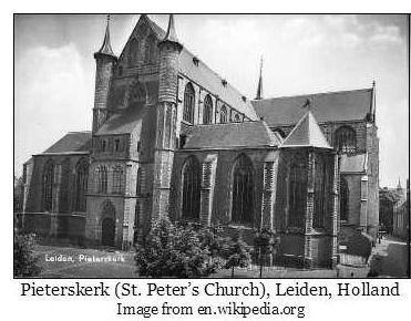 Pieterskerk (St. Peter's Church, Leiden, Holland