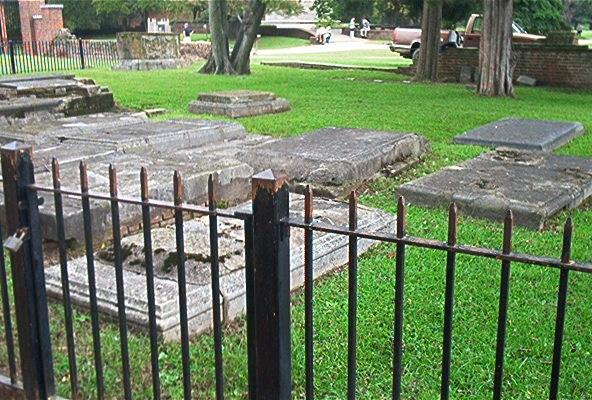 Cemetery at Jamestown