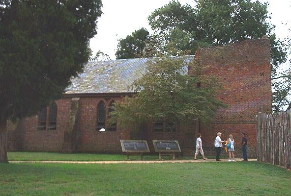 Memorial Church at Jamestown
