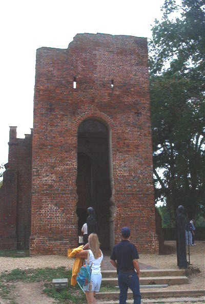 Tower of Memorial Church at Jamestown
