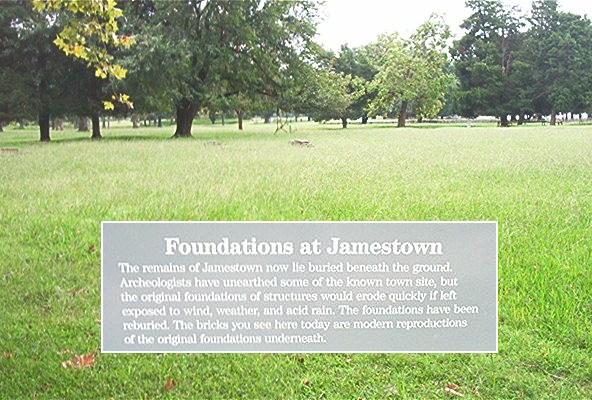 Hidden foundations of Jamestown