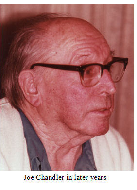 Joe in later years