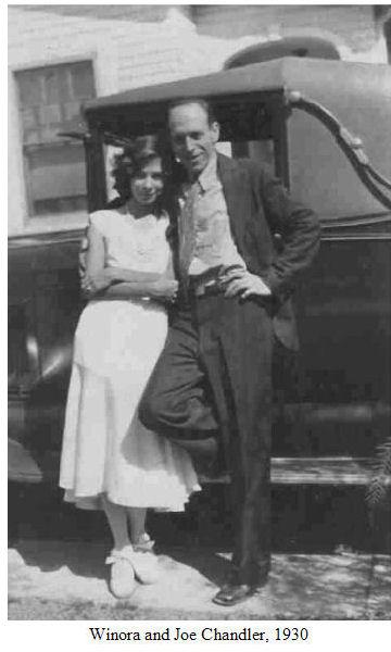 Winora and Joe Chandler, 1930