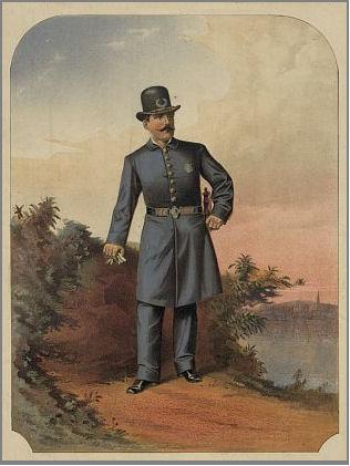 19th Century New York City policeman