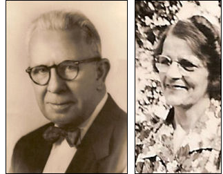 Frederick Augustus Chandler, Jr., and Mary Loretta Grien Chandler