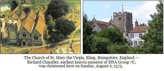 Church of St. Mary the Virgin, Eling, Hampshire, England