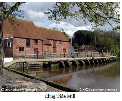 Eling Tide Mill, Eling, Hampshire, England