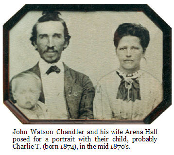 photo of John Watson Chandler family