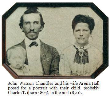 photo of John Watson Chandler family