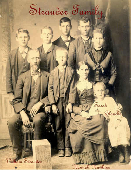 photo of Strawder Chandler family