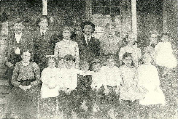 John G Chandler family photo