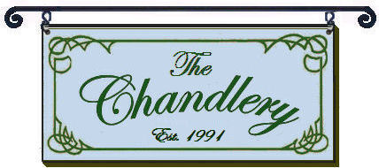 The Chandlery sign is a decorative graphic only and is not offered for sale by the CFA.