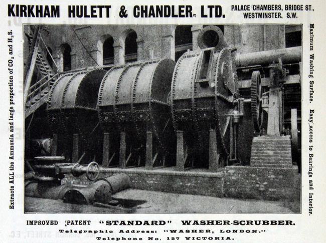 Kirkham Hulett & Chandler Washer-Scrubber