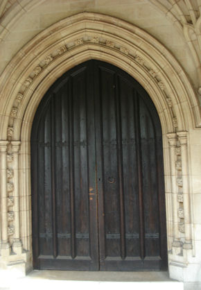 image of church door